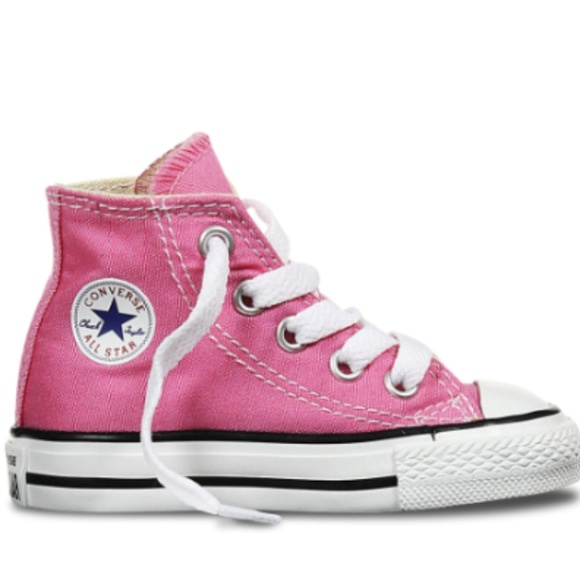 ff7551dd72d1 Converse Other - Toddler Pink High-top Converse All Stars